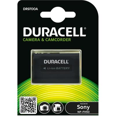 Duracell  Li-Ion-Akku für Sony NP-FH30, FH40, FH50 | 5055190114728