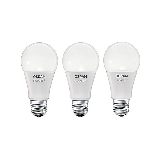 Osram SMART+ Apple Homekit Classic E27 Multicolor LED Birne 10W (60W) matt (3x)
