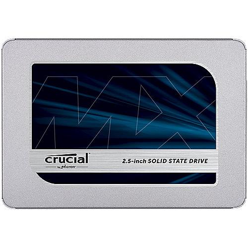 MX500 SSD 2TB 2.5zoll Micron 3D TLC SATA600 – 7mm | 0649528785077