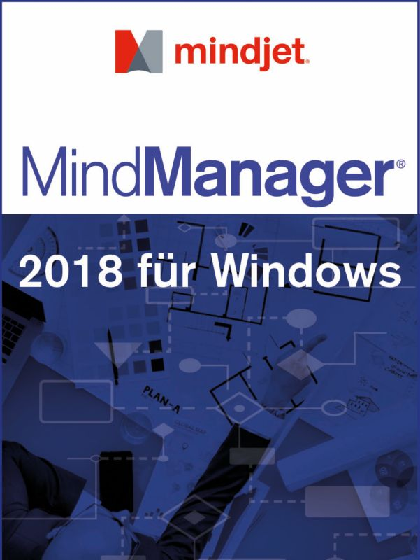 Mindjet MindManager Single 2018 Win 1User, 1 Jahr Abonnement Lizenz