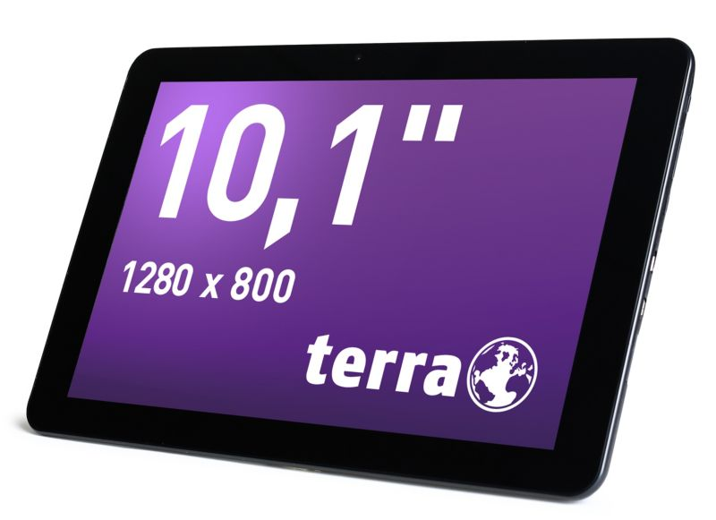 TERRA PAD 1003 Tablet WiFi 16 GB Android 4.4 schwarz