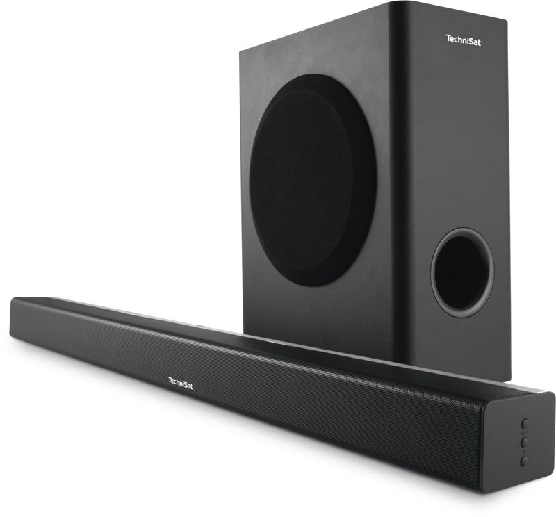 TechniSat AUDIOMASTER SL 900 2.1 Kanal Soundbar mit wireless Subwoofer