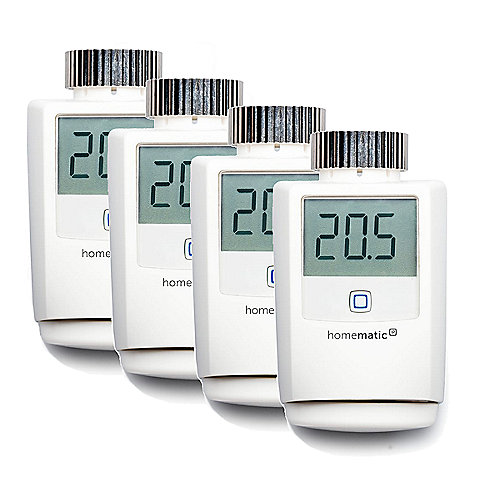 Homematic IP 4er Set Heizkörperthermostat HMIP-eTRV
