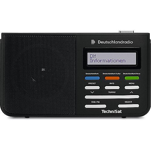 TechniSat DIGITRADIO 210 Deutschlandradio schwa...