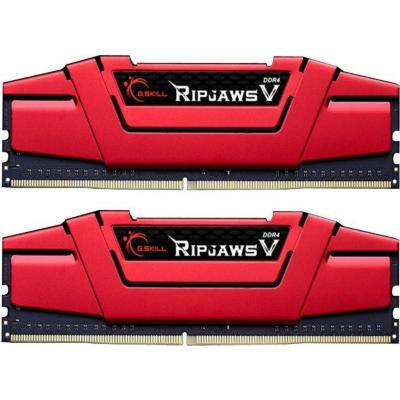 G. Skill 16GB (2x8GB) G.Skill RipJaws V Rot DDR4-3000 CL15 (15-15-15-35) RAM DIMM Kit | 4719692004314
