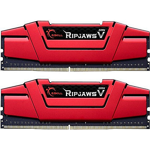 16GB (2x8GB) G.Skill RipJaws V Rot DDR4-3000 CL15 (15-16-16-35) RAM DIMM Kit