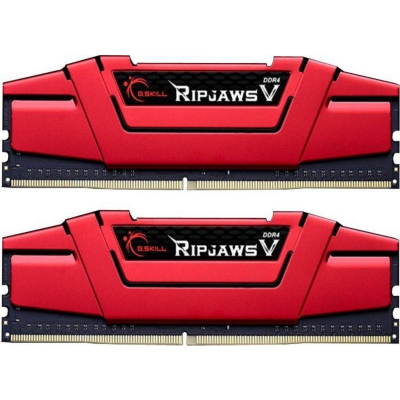 G. Skill 32GB (2x16GB) G.Skill RipJaws V Rot DDR4-2400 CL15 (15-15-15-35) RAM DIMM Kit | 4719692003270
