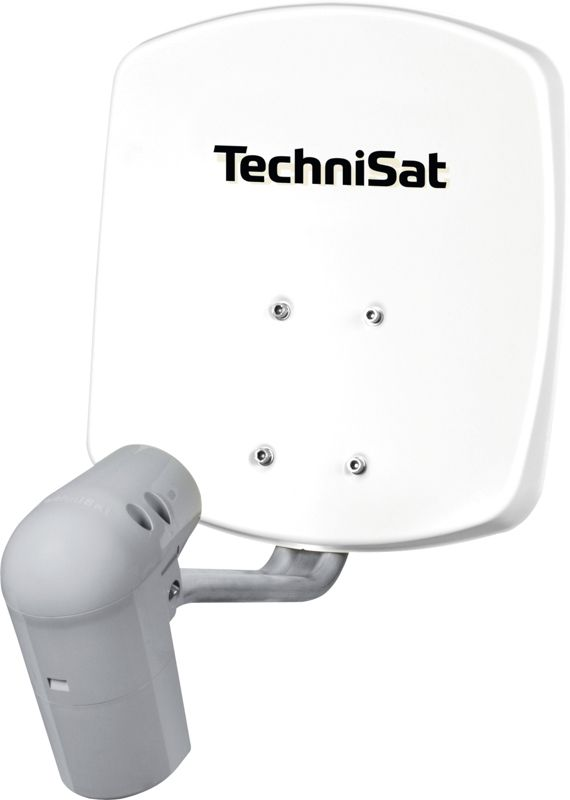 TechniSat SATMAN 33, UNYSAT-Twin-LNB, weiß, DigitalSat-Antenne