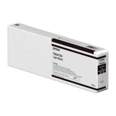 Epson  C13T804700 Druckerpatrone 700ml Light schwarz T804700 UltraChrome HDX/HD | 0010343917538