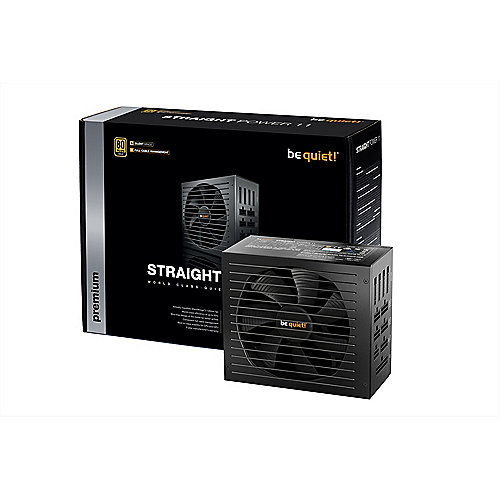 be quiet! Straight Power 11 750 Watt CM 80+ Gold (135mm Lüfter) voll modular