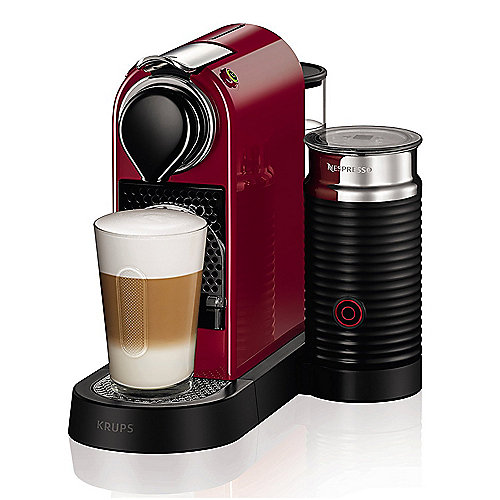 Krups XN 7605 Nespresso CitiZ&Milch Cherry Red | 0010942220367