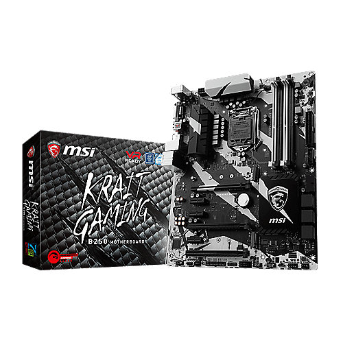 MSI B250 Krait Gaming ATX Mainboard Sockel 1151 (Kabylake)