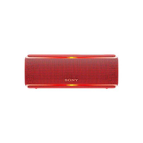 SRS-XB21 tragbarer Lautsprecher (wasserabweisend, NFC, Bluetooth) rot | 4548736072121