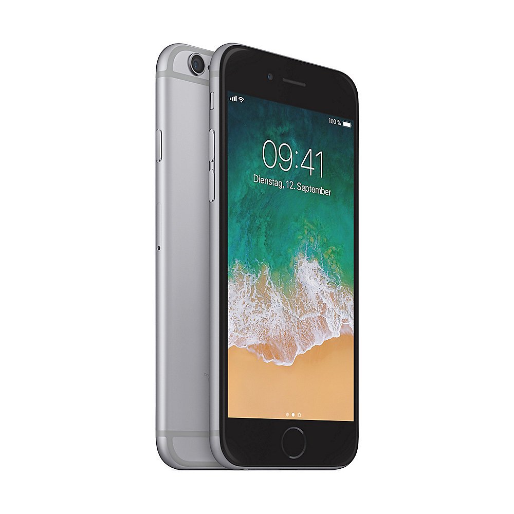 Apple iPhone 6 32 GB Space Grau MQ3D2ZD/A