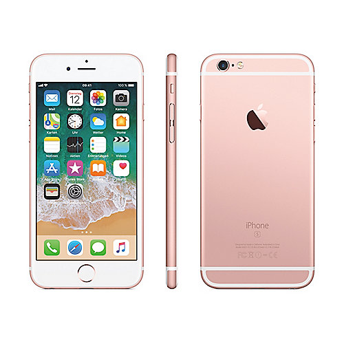 Apple iPhone 6s 32 GB Roségold MN122ZD A
