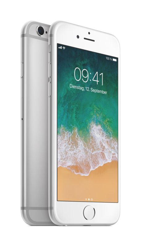 Apple iPhone 6s 32 GB Silber MN0X2ZD/A