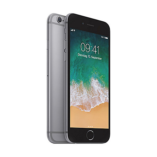 Apple iPhone 6s 32 GB Space Grau MN0W2ZD A