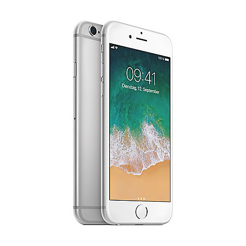 Apple iPhone 6s 128 GB Silber MKQU2ZD/A