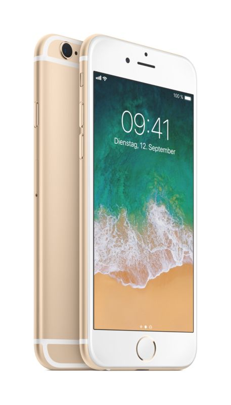 Apple iPhone 6s 128 GB Gold MKQV2ZD/A
