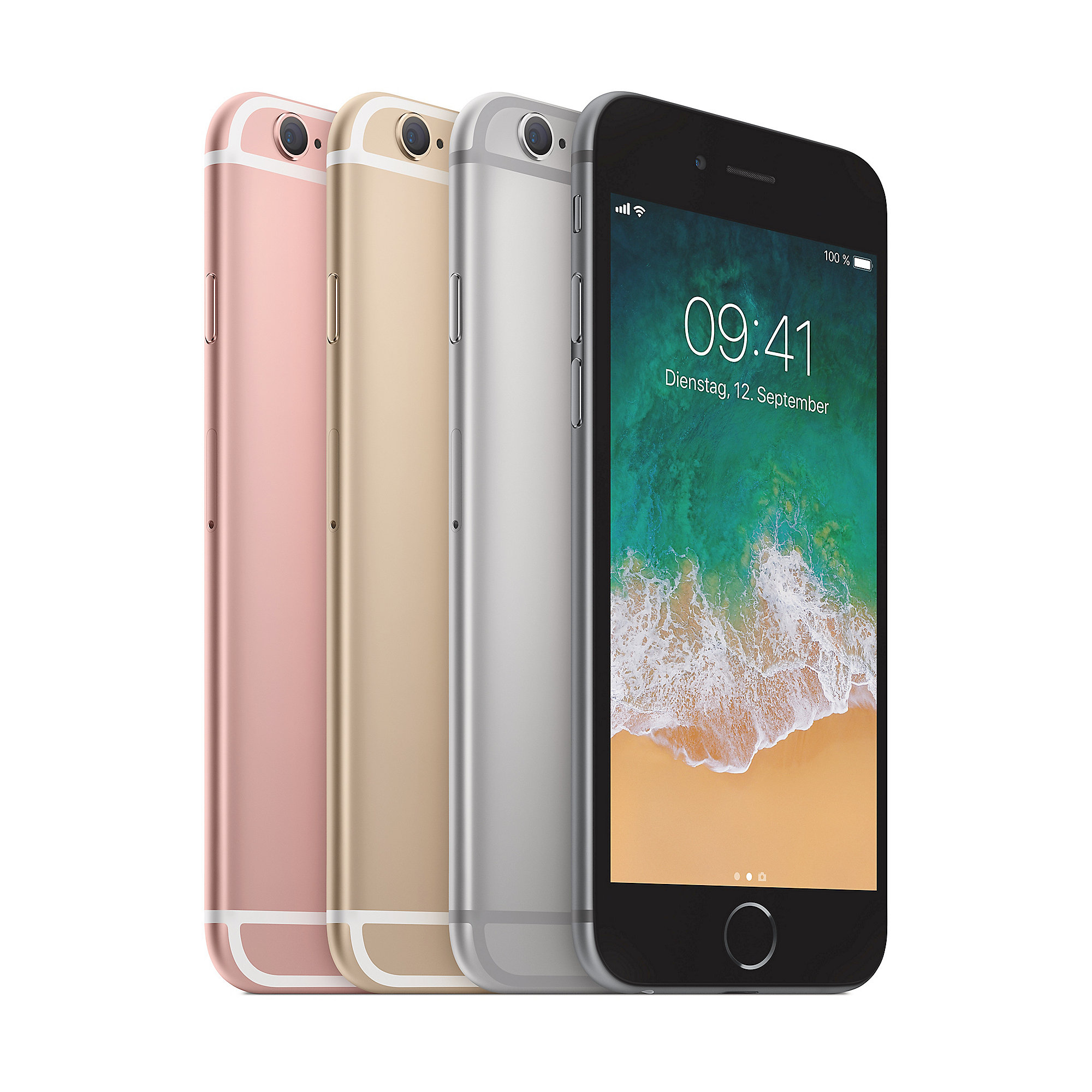 apple iphone 6s 128 gb ros gold mkqw2zd a cyberport. Black Bedroom Furniture Sets. Home Design Ideas