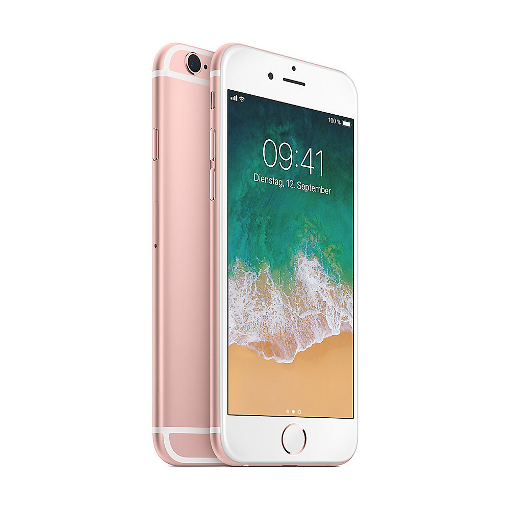 Apple iPhone 6s 128 GB Roségold MKQW2ZD/A