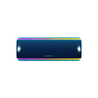 Sony  SRS-XB31 tragbarer Lautsprecher wasserabweisend, NFC, Bluetooth LED blau | 4548736072978