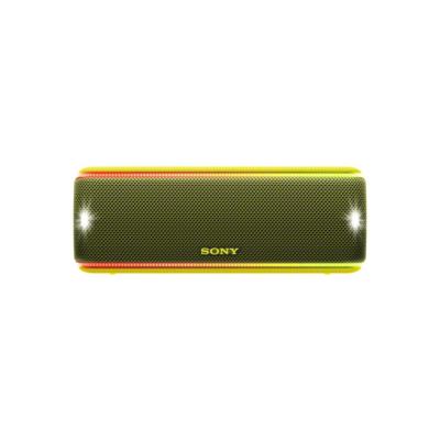 Sony  SRS-XB31 tragbarer Lautsprecher wasserabweisend, NFC, Bluetooth LED gelb | 4548736073043