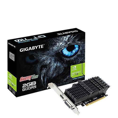 GeForce GT 710 2GB GDDR5 DVI/HDMI Grafikkarte | 4719331301743
