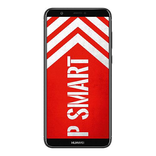 HUAWEI P smart Dual SIM black Android 8.0 Smartphone mit Dual Kamera auf Rechnung bestellen