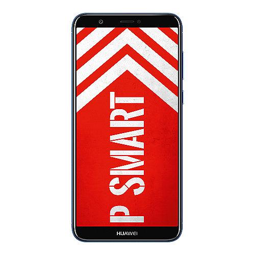 HUAWEI P smart Dual SIM blue Android 8.0 Smartphone mit Dual Kamera auf Rechnung bestellen