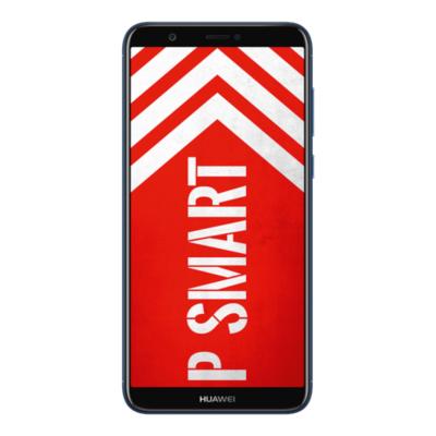 Huawei  P smart Dual-SIM blue Android 8.0 Smartphone mit Dual-Kamera | 6901443210848