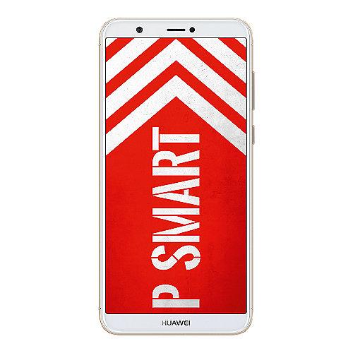HUAWEI P smart Dual SIM gold Android 8.0 Smartphone mit Dual Kamera auf Rechnung bestellen