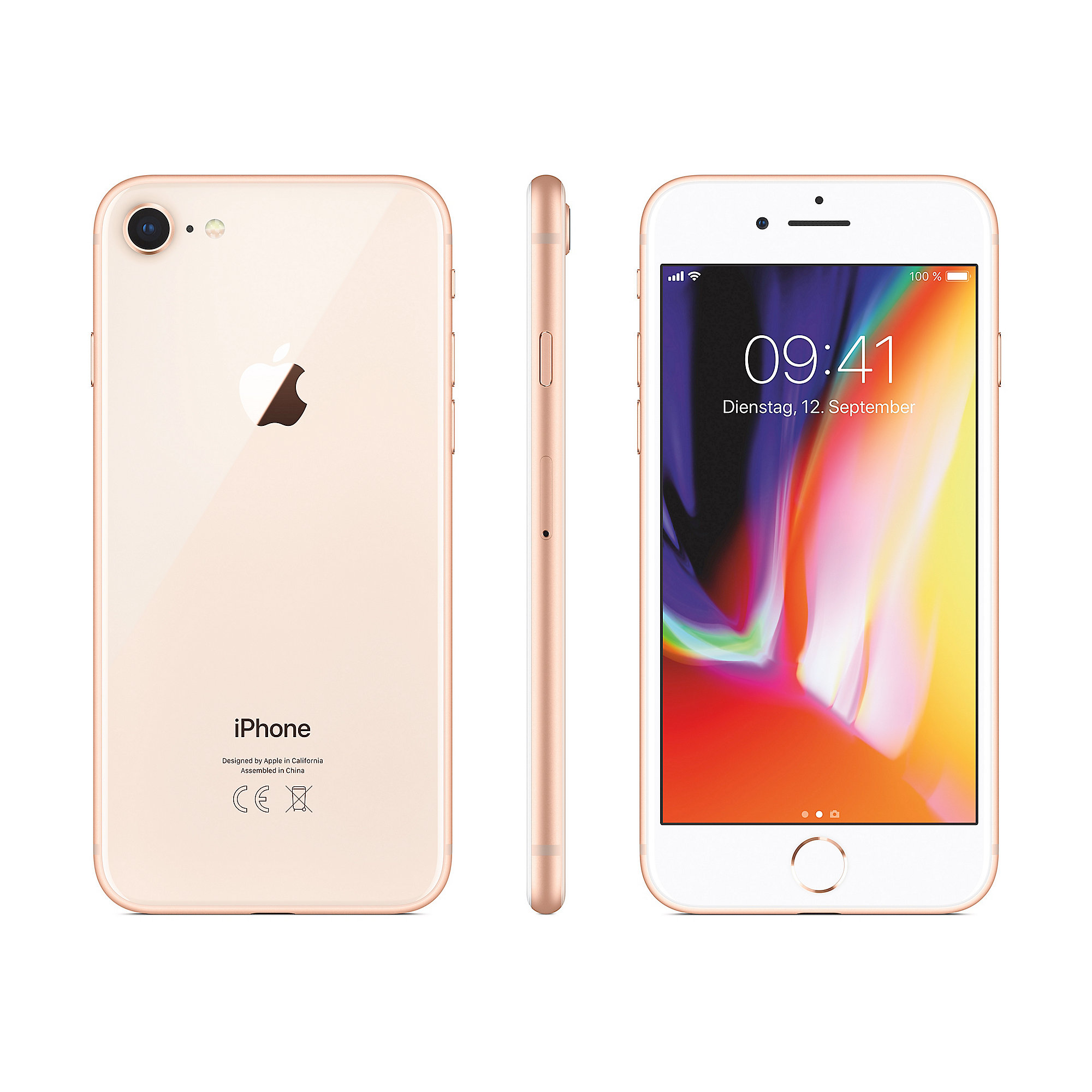Apple iPhone 8 256 GB Gold MQ7E2ZD/A