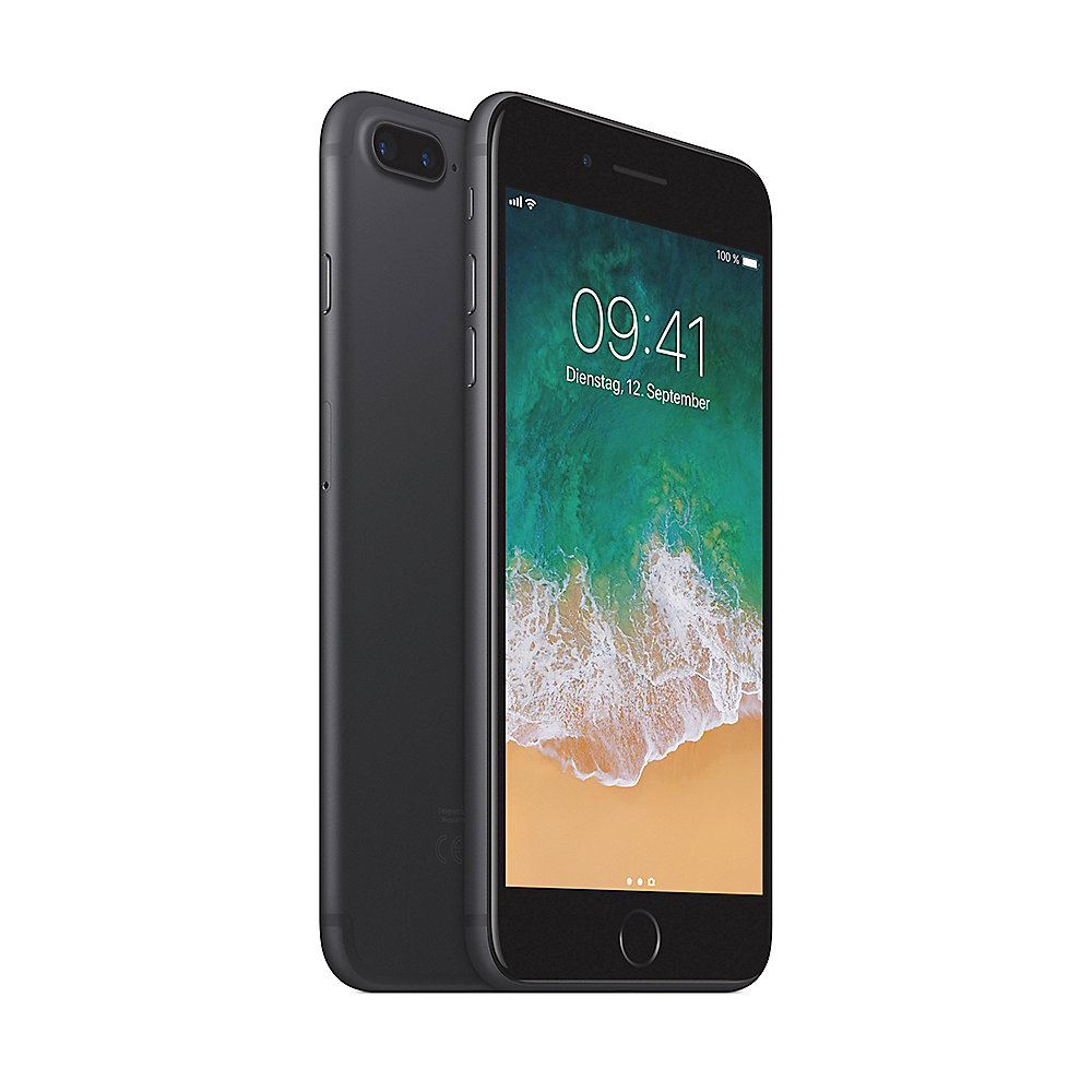 apple iphone 7 plus 128 gb schwarz mn4m2zd a cyberport. Black Bedroom Furniture Sets. Home Design Ideas