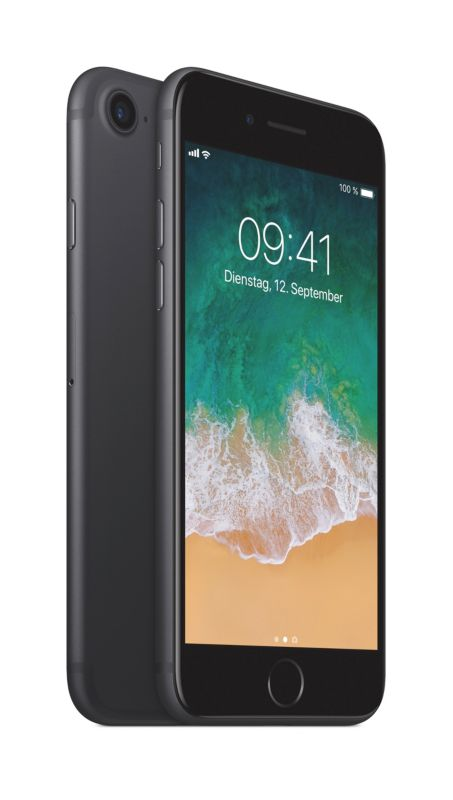 Apple iPhone 7 128 GB schwarz MN922ZD/A