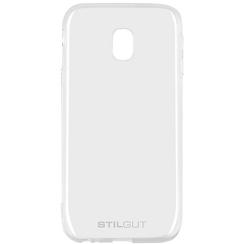StilGut Cover für Samsung Galaxy J3 (2017) transparent