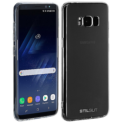 StilGut Cover für Samsung Galaxy S8 transparent
