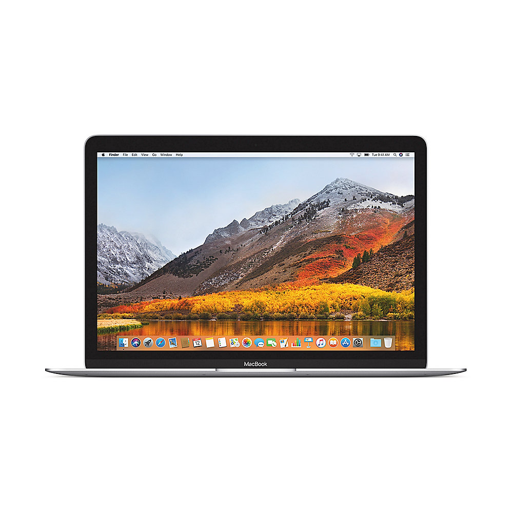 "Apple MacBook 12"" 2017 1,2 GHz Core M 8GB 256GB HD615 Silber MNYH2D/A"