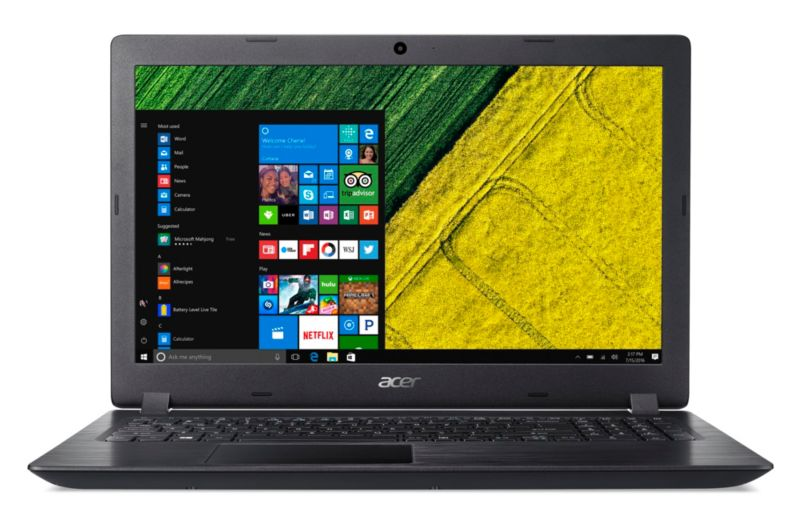 "Acer Aspire 3 A315-51-31QC i3-6006U 8GB/128GB SSD 15"" HD W10"