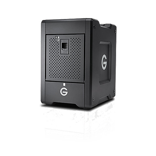 G-Technology G-SPEED Shuttle Thunderbolt 3 DAS 4-Bay 16TB