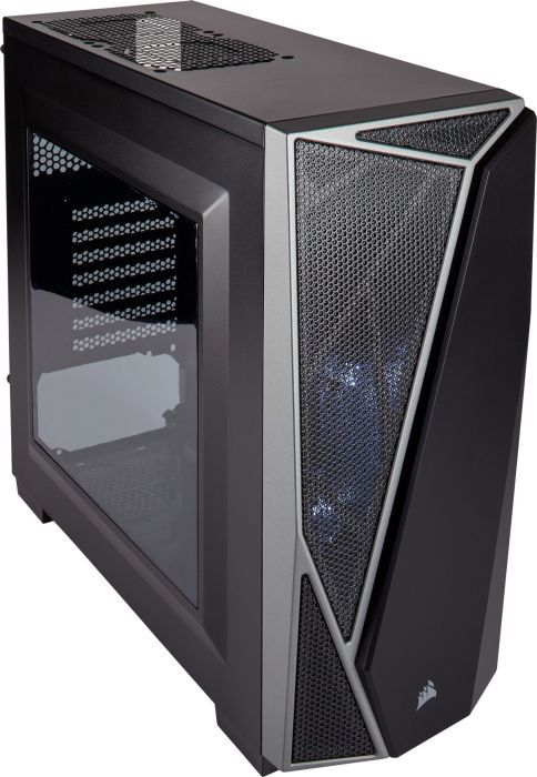Corsair Carbide SPEC-04 LED Schwarz/Grau Midi Tower Gaming Gehäuse m. Fenster