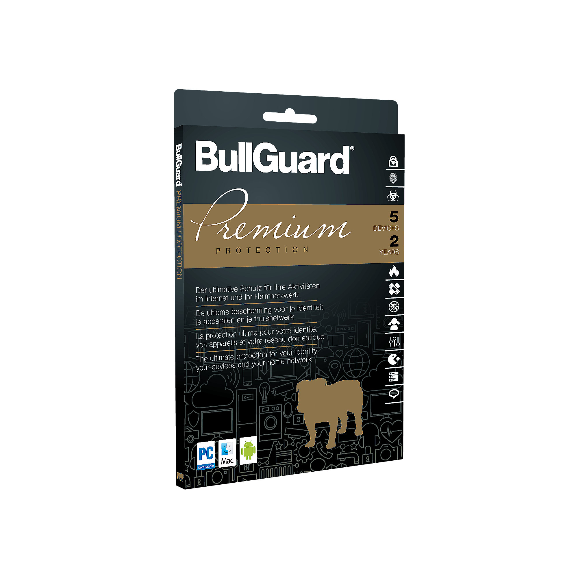 BullGuard Premium Protection 2018 5 Devices 2 Jahre - ESD