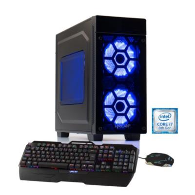 Hyrican  Striker-X PC blue 5758 i7-8700 16GB 2TB 240GB SSD GTX 1080 Windows 10   4045643057581