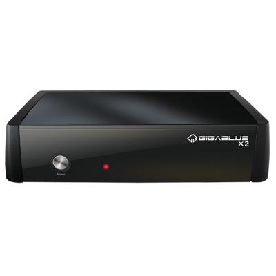 Gigablue  HD X2 Linux Receiver (eSATA, USB, HDMI, LAN) DVB-S2 Tuner   4260190962083