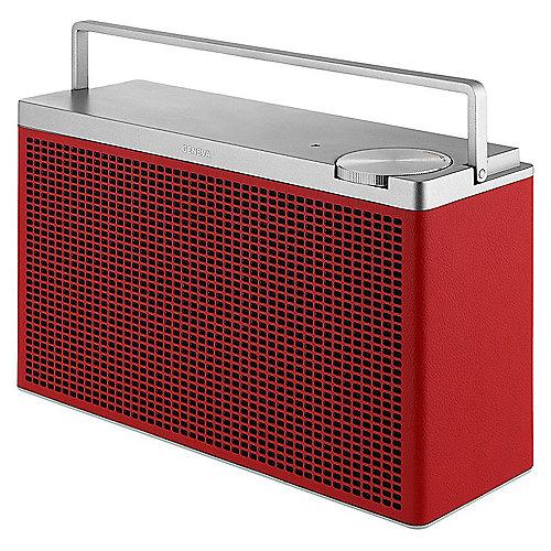 Geneva Touring/M Tragbarer Bluetooth HiFi Lautsprecher – rot | 0875419015415
