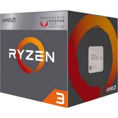 AMD  Ryzen R3 2200G (4x 3,5 GHz) 6MB Sockel AM4 CPU BOX (Wraith Stealth Kühler) | 0730143309110
