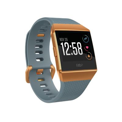 Fitbit  Ionic Gesundheits- und Fitness-Smartwatch slate blue/burnt orange | 0816137026086