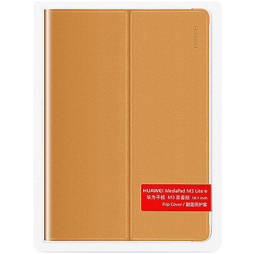 Huawei Mediapad M3 Lite 10 Tablet Flip Cover braun | 6901443168231