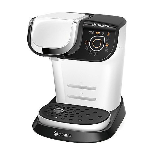 Bosch TAS6004 TASSIMO MY WAY Multi-Getränke-Automat weiß schwarz | 4242002968995