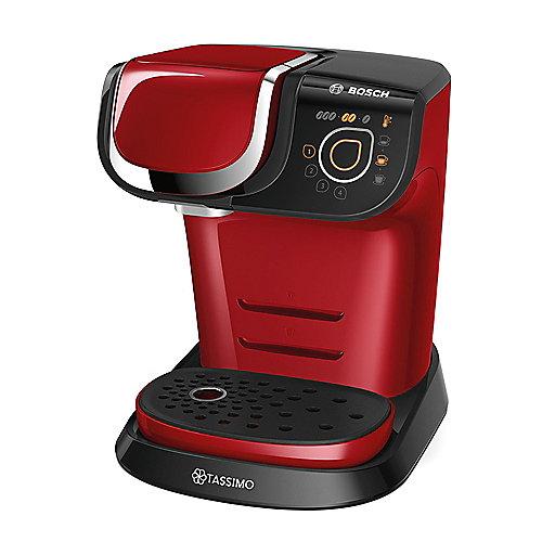 Bosch TAS6003 TASSIMO MY WAY Multi-Getränke-Automat rot schwarz | 4242002968971